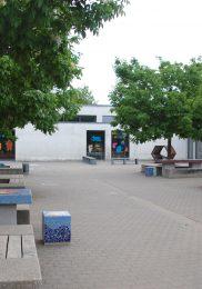 Förderverein sorgt für Farbe auf dem Pausenhof